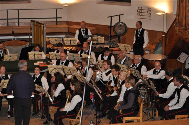 Die MGR am Kirchenkonzert 2013. Foto: Marianne Urben