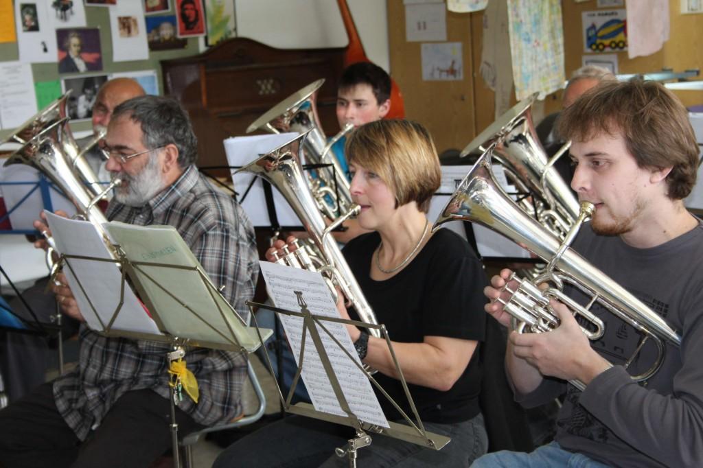 Probesamstag 2014 für das Bernische Kantonale-Musikfest