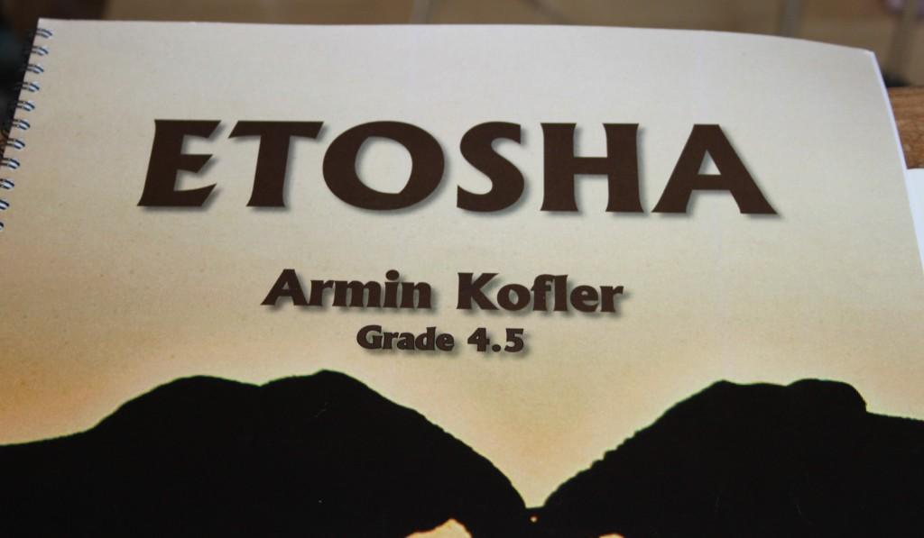 Unser Aufgabenstück ETOSHA
