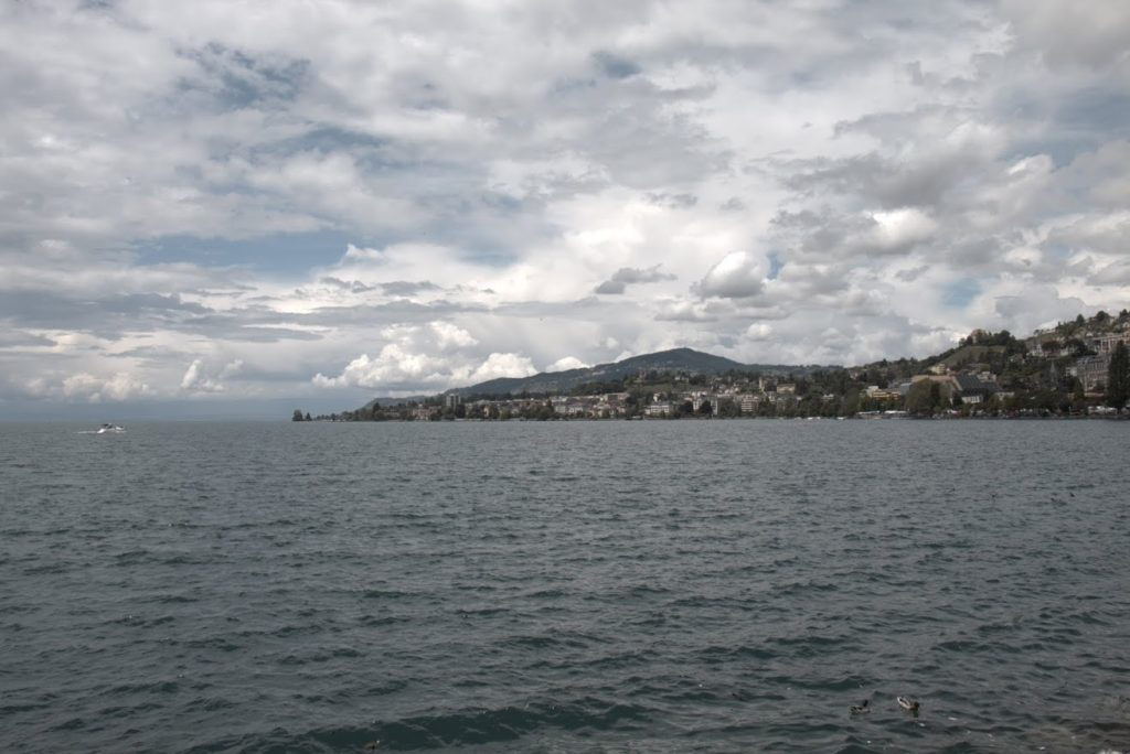 Blick auf die Riviera