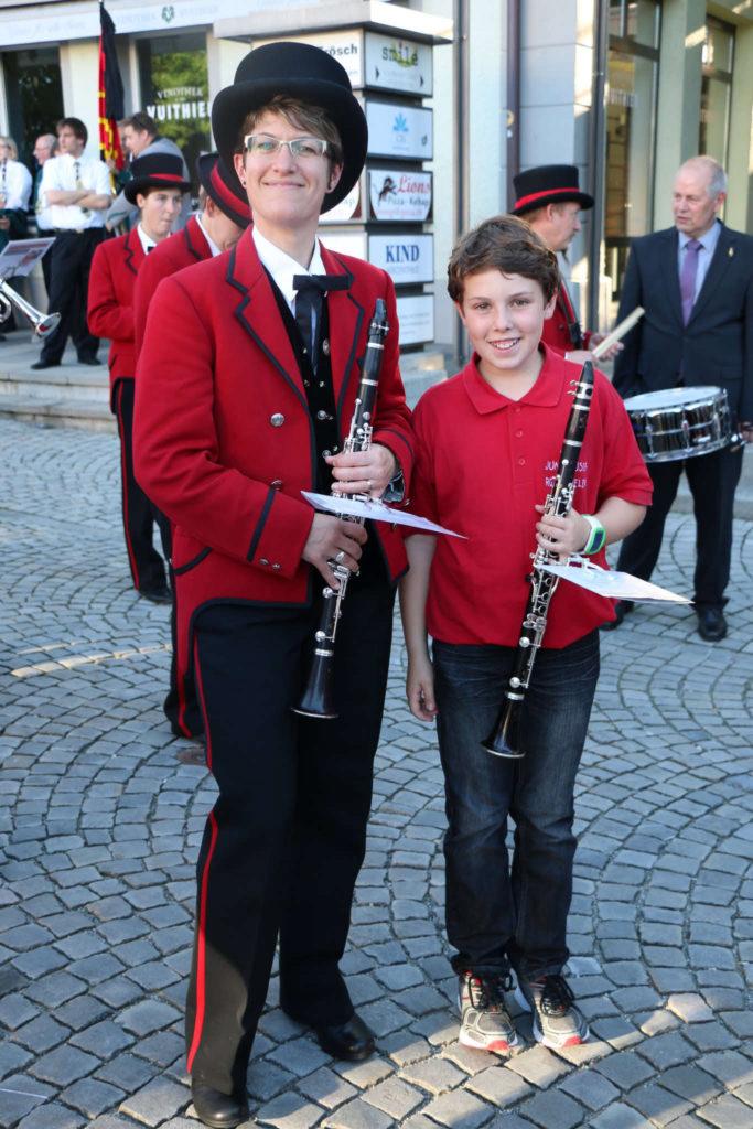 Marschparade 2016